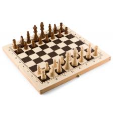 Комплект класически игри Pino Toys - Шах, дама, табла -1