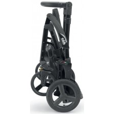 Рама за количка Cam - Dinamico V90, черна, с PU колела -1