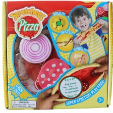 Разтеглива играчка Stretcheez Pizza, скариди и босилек -1
