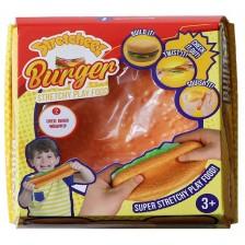 Разтеглива играчка Stretcheez Burger, хрупкав пилешки -1