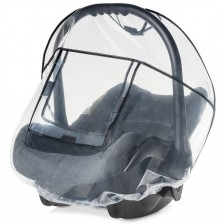 Дъждобран за столче за кола Reer - Прозрачен, 0-9 kg -1