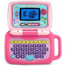 Образователна играчка Vtech - Лаптоп 2 в 1, розов -1