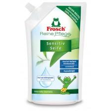 Сапун за деца с пълнител Frosch, 500 ml  -1