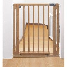 Универсална преграда за врата Safety 1st - Кафява -1