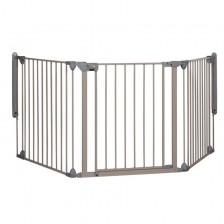 Модулна метална преграда от 3 модула Safety 1st, сива -1