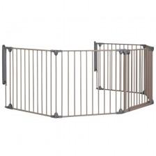 Модулна метална преграда от 5 модула Safety 1st, сива -1