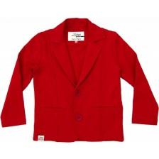Сако за момче Zinc - Червено, 74 cm -1