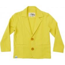 Сако за момче Zinc - Жълто, 68 cm -1
