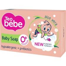 Сапун Teo Bebe - Алое и пребиотик, 75 g -1