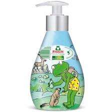 Сапун за деца с помпа Frosch, 300 ml , асортимент -1