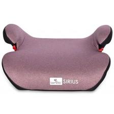Седалка за кола Lorelli - Sirius Fix, 22-36 kg, Pink -1