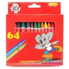 Цветни пастели Sense – 64 броя -1