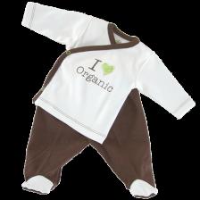 Сет камизолка и ританки For Babies - Organic, 0-1 месеца -1