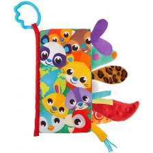 Сензорна текстилна книжка Playgro - Опашки -1