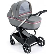 Сет за детска количка Cam - Milano, без шаси, сив -1