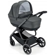 Сет за детска количка Cam - Milano, без шаси, тъмносив -1