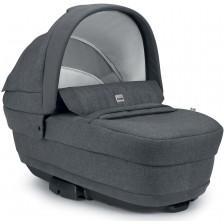 Сет за детска количка Cam - Joy Techno, без шаси, Антрацит -1
