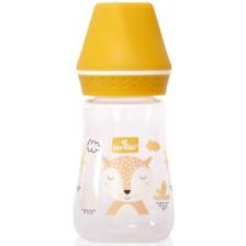 Бебешко шише Lorelli My Friend - 125 ml, жълто