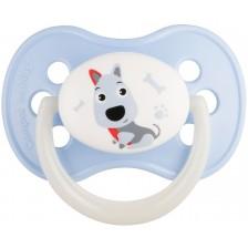 Силиконова залъгалка Canpol - Animals, 0-6 месеца, Куче -1
