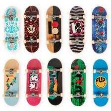 Скейтборди за пръсти Spin Master - Tech Deck, DLX PRO, 10 броя -1