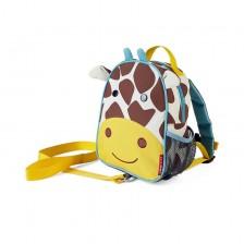 Детска мини раница Skip Hop Zoo - Жирафчето Джулс -1