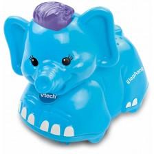 Детска играчка Vtech - Животни за игра, слон -1
