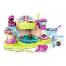 Детски комплект за готвене Smoby - Сет за шоколадови близалки -1