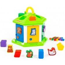 Детски сортер Polesie - Къща -1