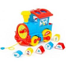 Сортер локомотив Polesie Toys - The Smurfs 64363 -1