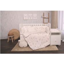 Спален комплект Lorelli - Лили, Екрю зайчета, 60 х 120 cm -1