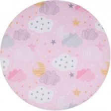 Спален комплект за мини кошара Chipolino - Небе, розово -1