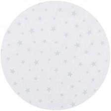 Спален комплект за мини кошара Chipolino - Звезди, сиви -1