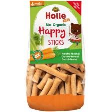 Спелтови гризини Holle - Морков и копър, 100 g -1