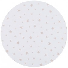 Спален комплект за мини кошара Chipolino - Звезди, бежови -1