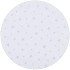 Спален комплект за мини кошара Chipolino - Звезди, сини -1