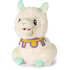 Интерактивна плюшена играчка IMC Toys - Плюеща лама Spitzy