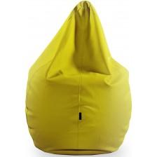 Среден барбарон Barbaron - Софт, еко кожа, жълт -1