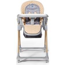 Столче за хранене KinderKraft - Lastree, дървесно -1