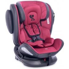 Столче за кола Lorelli - Aviator IsoFix, Black&Red, 0-36 kg -1