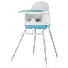 Столче за хранене 3 в 1 Chipolino - Пудинг, синьо -1