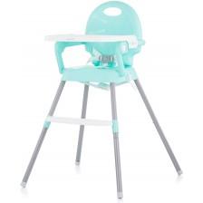 Столче за хранене Chipolino - Бонбон 3 в 1, зелен -1