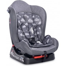 Столче за кола Lorelli - Falcon, Grey Clouds, 0-18 kg -1