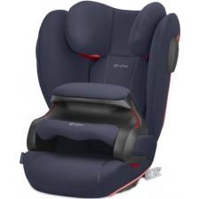 Стол за кола Cybex - Pallas B2-fix+, 9-36 kg, с Isofix, bay blue -1