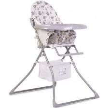Стол за хранене Moni - Scaut, сив -1