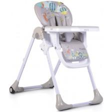 Столче за хранене Moni - Muffin, Сив -1