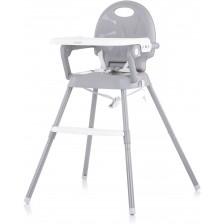 Столче за хранене Chipolino - Бонбон 3 в 1, сиво -1