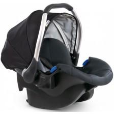 Столче за кола Hauck - Comfort Fix, 0-13 kg, black/grey -1