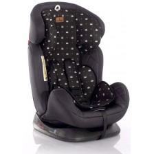 Столче за кола Lorelli - Galaxy, Black Crowns, 0-36 kg -1