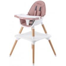 Стол за хранене 3 в 1 Chipolino - Classy, божур -1