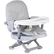 Столче за хранене Cangaroo - Kiwi, сиво -1